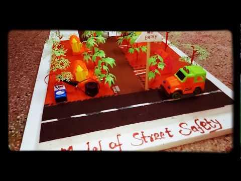 School Project - Street Safety Model - Motion Sensor and Vehicle Crossing Sensor Model