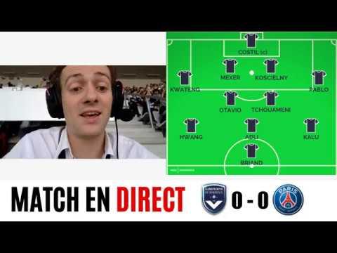 [DIRECT/Live] Bordeaux - PSG : Suivez Le Match Avec Les Commentaires