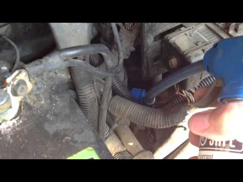Adding Refrigerant To 1997 Ford Expedition With 54 Triton V8 Youtube. Adding Refrigerant To 1997 Ford Expedition With 54 Triton V8. Ford. 2000 Ford Expedition Ac Port Diagram At Scoala.co
