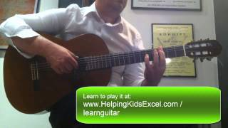 Speak Softly Love - Acoustic Guitar Classic Fingerstyle