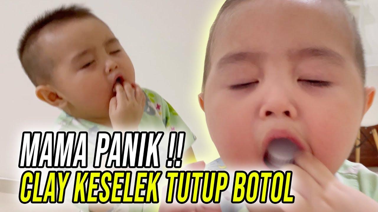 Download MAMA PANIK HAMPIR MAU NANGIS!! CLAY KESELEK TUTUP BOTOL HAMPIR KEMAKAN