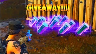 Fortnite Save The World Giveaway!! Ends At 175 Subs! (Giveaway Ended)