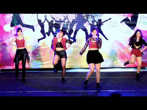 141109 The Antares cover Kiss&Cry - Domino Game @I'm Park Cover Dance (Audition)