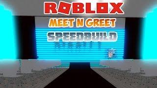 MEET N GREET/HANGOUT SPEEDBUILD! - Roblox