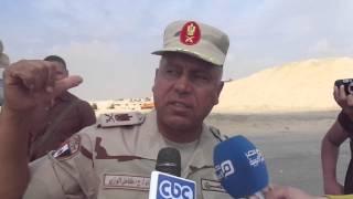 قناة السويس الجديدة : اللواء كامل الوزير يعلن أقامة طريق موازى لطريق سرابيوم بعد قناة الاتصال