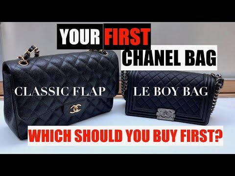 83488dfcfd1ee Your First CHANEL Bag  Classic Flap or Le Boy Bag