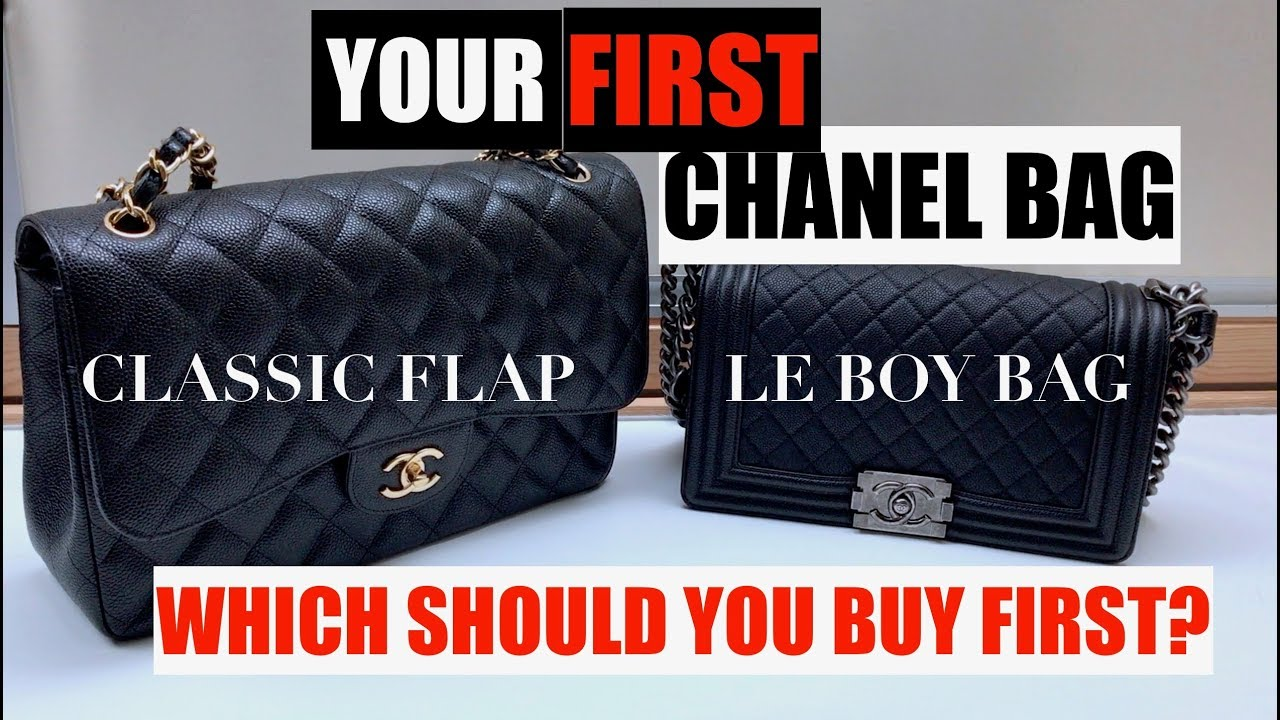 chanel bags classic. Your First CHANEL Bag: Classic Flap Or Le Boy Bag? | Lifeplasty Chanel Bags