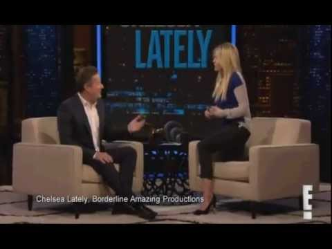 Stop looking at me with your molester eyes! Chelsea Handler  vs Piers Morgan