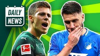 Robben schießt den FC Bayern weiter! Verliert Gladbach Hazard? Kagawa darf gehen! Die TSG ist raus!