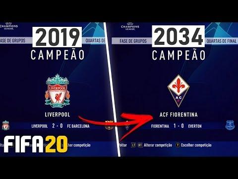 SIMULEI OS PRÓXIMOS 15 CAMPEÕES DA CHAMPIONS!   FIFA Experimento