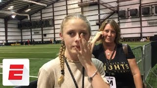 Why Shaquem Griffin matters: This girl gets skipped in high-five line because of her arm | ESPN