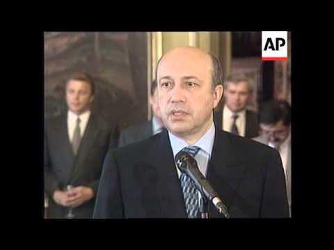 RUSSIA: KOSOVO: IVANOV MEETS WITH UZBEK COUNTERPART