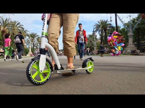 Hudora Bold Wheel Cushion 230 Kick Scooter