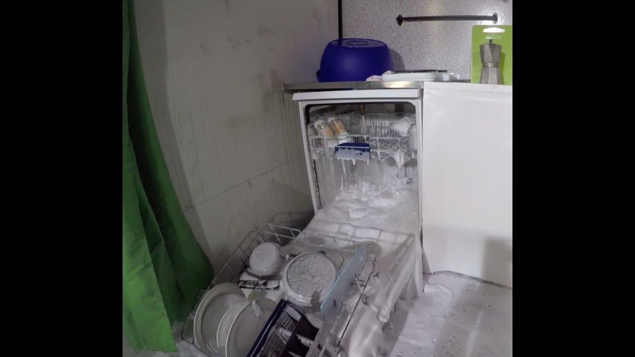 SchaumDebakel Geschirrspülmaschine überflutet Küche! #  ~ Geschirrspülmaschine Tabs Oder Pulver