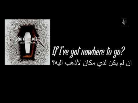 Metallica - The Unforgiven III Lyrics English / Arabic