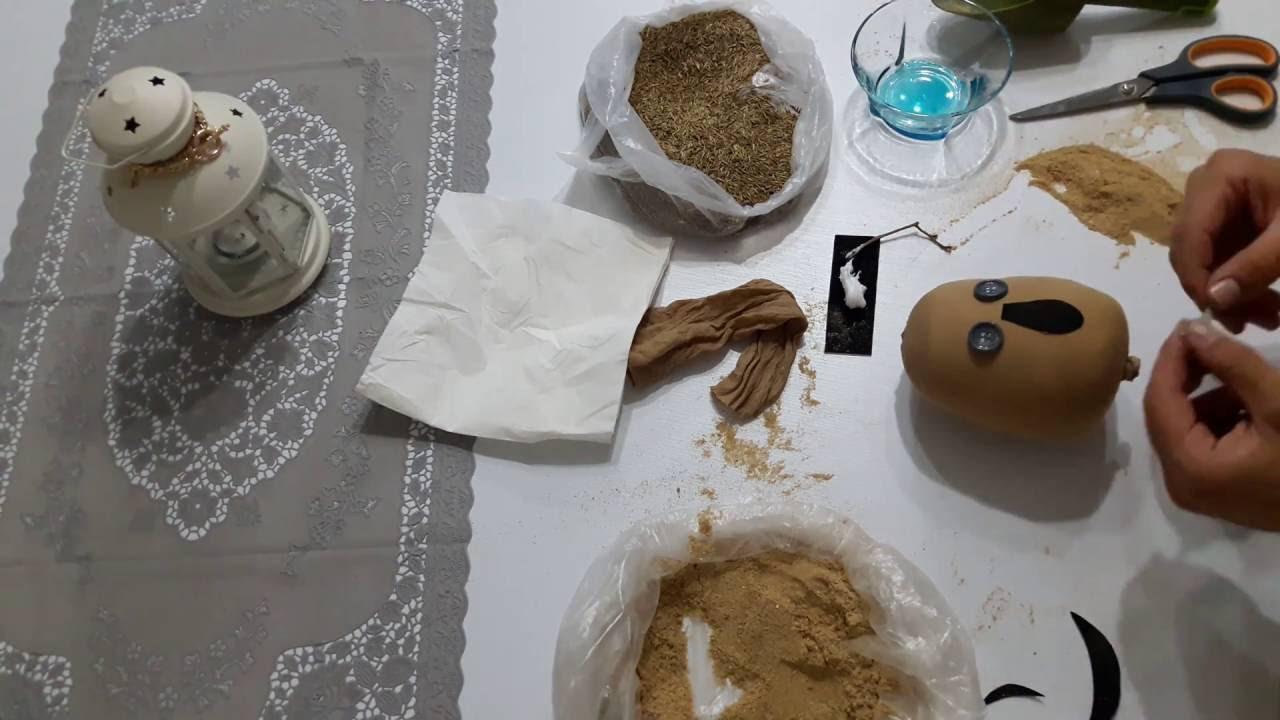 Pet Şişeden Çim Adam Yapımı
