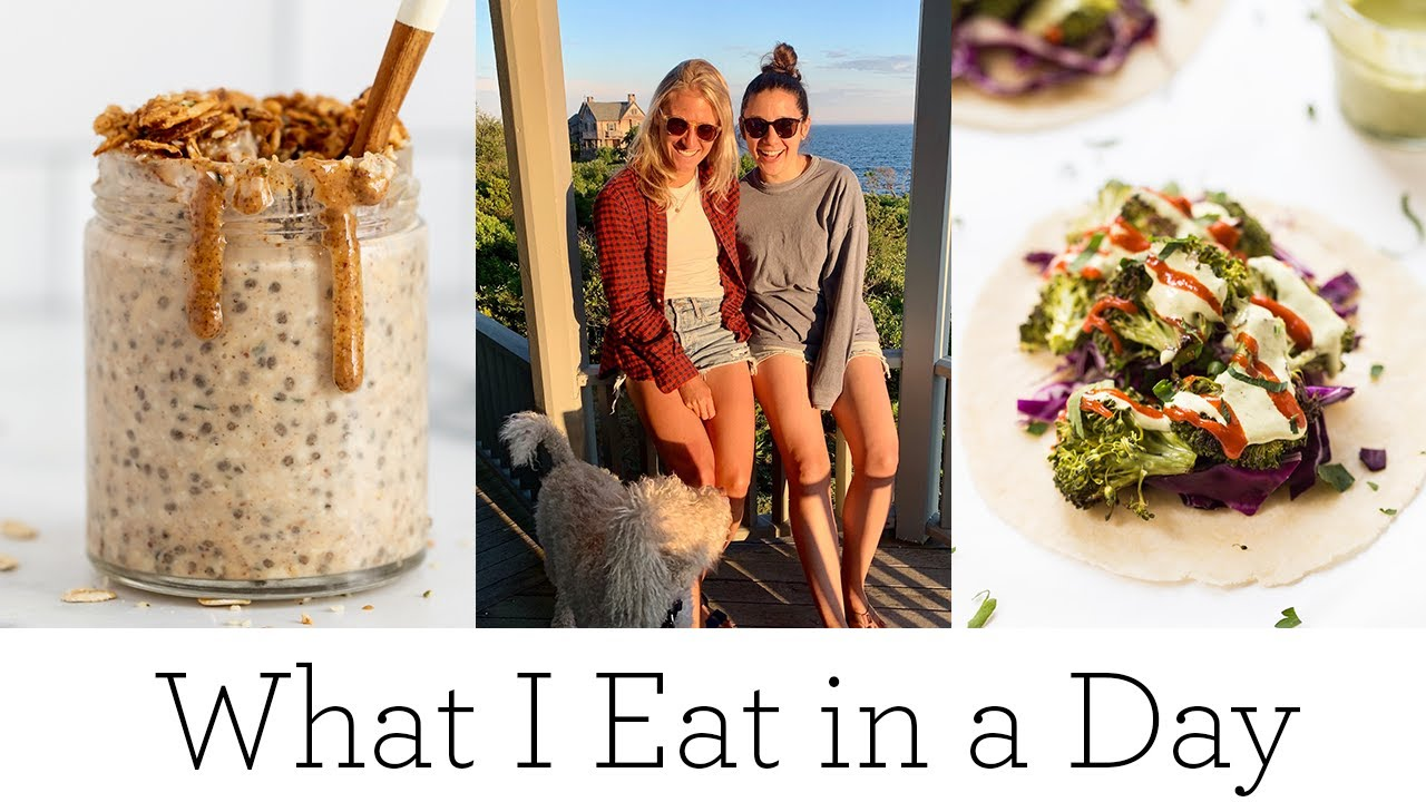 WHAT I EAT IN A DAY (HEALTHY) ‣‣ weekend girls trip