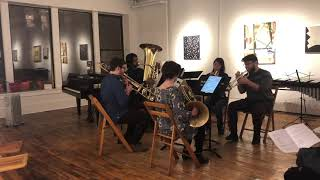 Tania León: Saoko for Brass Quintet