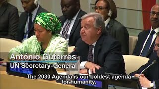 Secretary-General António Guterres Proposes Reforms to Strengthen UN Development System thumbnail
