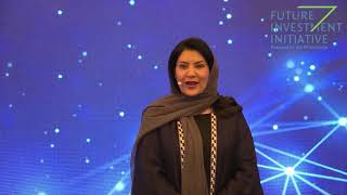 H.R.H. Princess Reema bint Bandar bin Sultan Al Saud, Ambassador to the US, KSA - FII 4th Edition