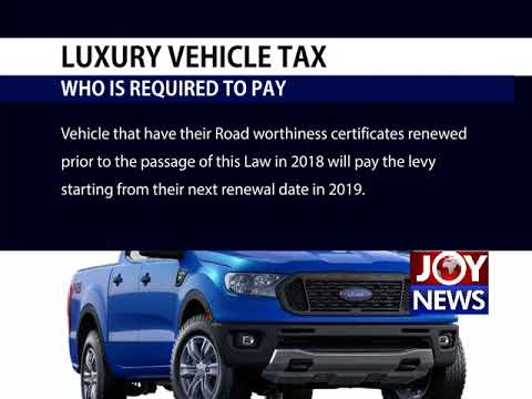 Luxury Vehicle Tax All You Need To Know 1 08 18 Youtube