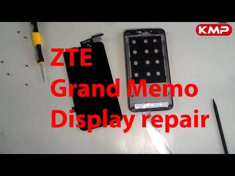 ZTE Grand Memo - LCD Display reparieren, wechseln, tauschen, repair