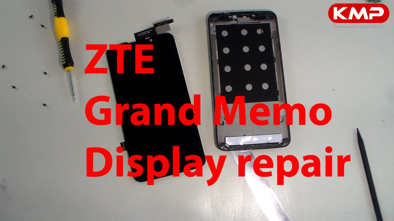 zte grand memo lcd display reparieren wechseln tauschen repair youtube. Black Bedroom Furniture Sets. Home Design Ideas