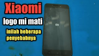 Xiaomi dinyalakan muncul logo MI langsung mati