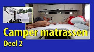 Camper TV 238 Matrassen en Kussens in de camper deel 2