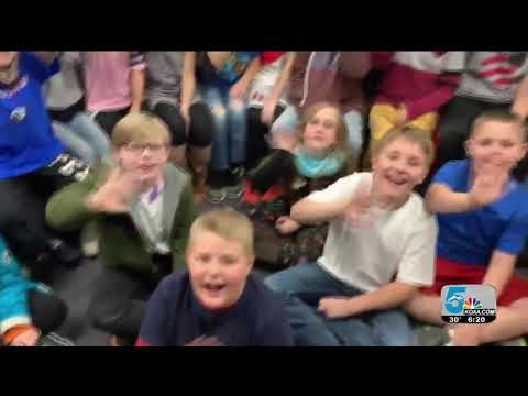 Storm Safe visits Lincoln School of Science and Technology
