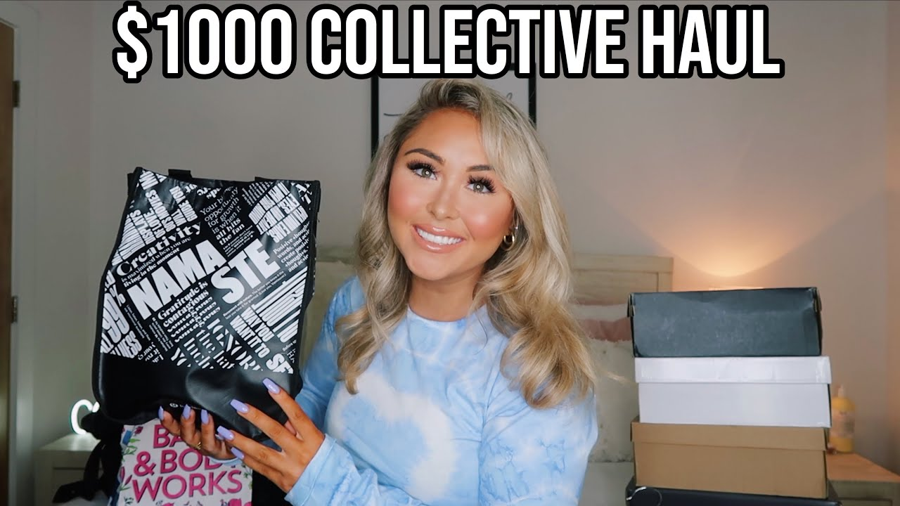 $1000+ COLLECTIVE HAUL || Lululemon, Jordan 1''s, Nike, Urban, Skims, & More! *SUMMER 2020*