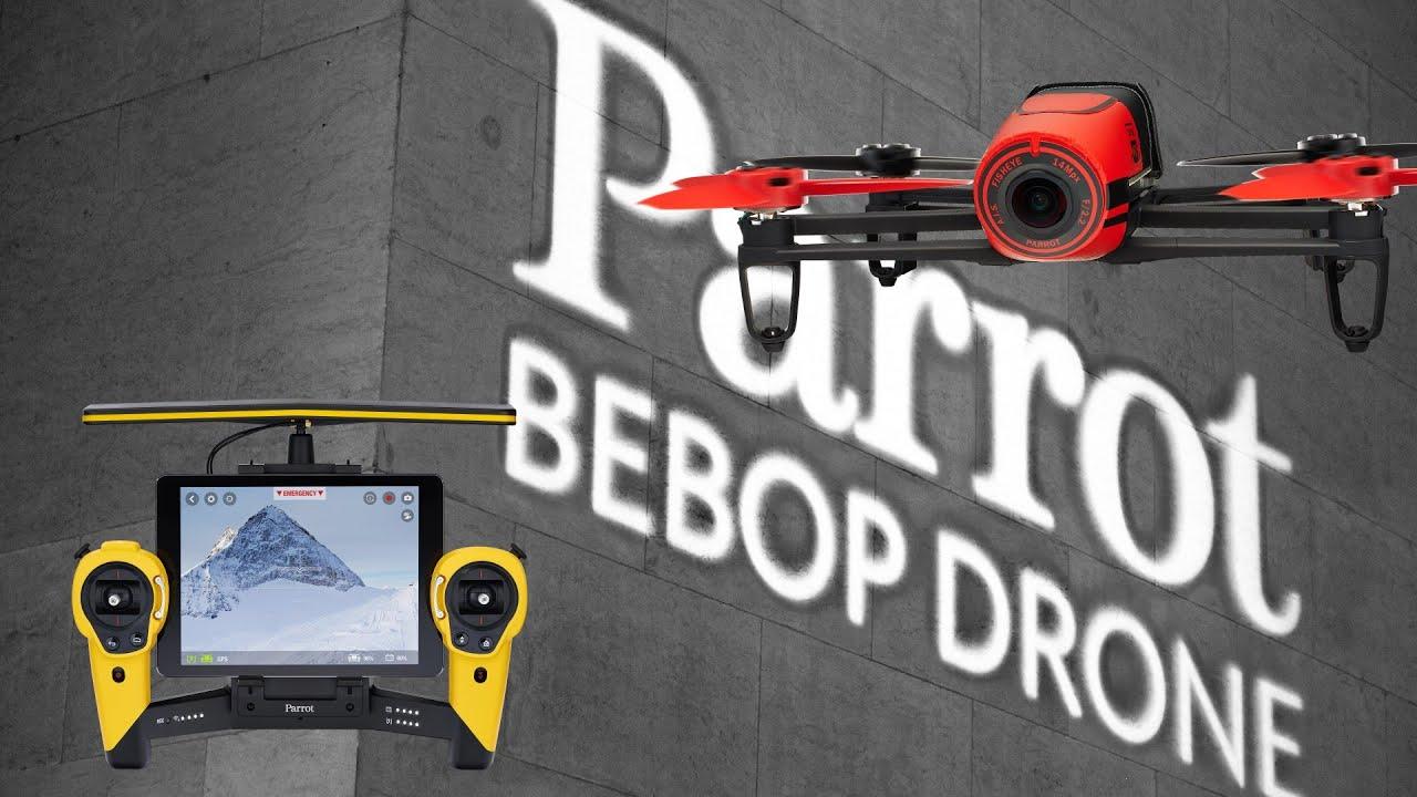 Download Parrot Bebop Drone - Quadrocopter für Einsteiger im Hands On Test [Deutsch]