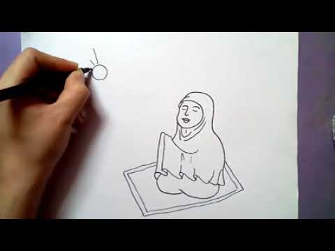 How To Draw Happy Eid Poster Eid Mubarak Drawing For Kids