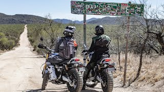 2019 Triumph Scrambler 1200 Does The Baja $500 - On Two Wheels