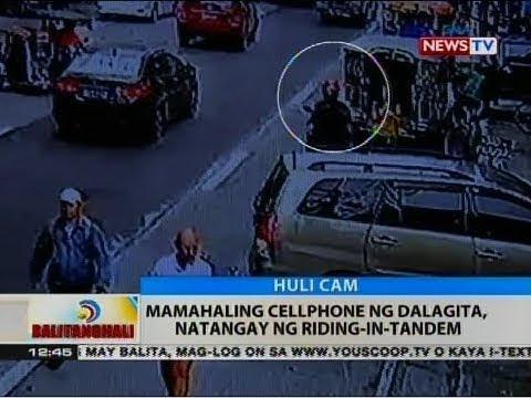 BT: Mamahaling cellphone ng dalagita, natangay ng riding-in-tandem