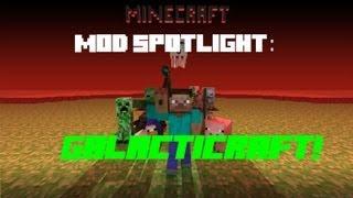Minecraft - Galacticraft Mod Spotlight! (1.4.7)