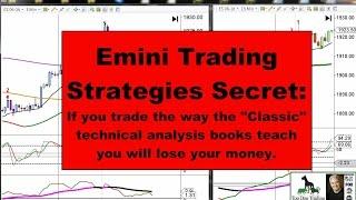Emini Trading Strategies Secret