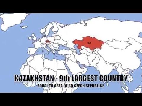 The heart of Eurasia Kazakhstan