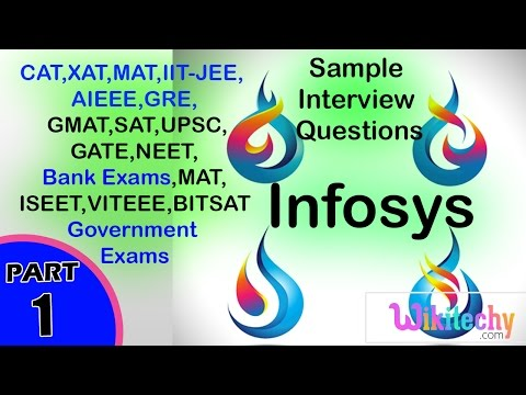 Infosys Interview Questions and Answers | Infosys Aptitude Questions | Infosys HR Interview