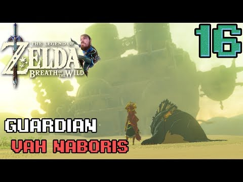 Guardian vah naboris - Breath of the Wild (Switch) - Epi 16