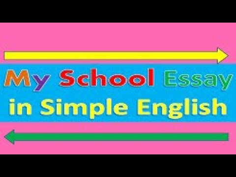my school essay in english  youtube my school essay in english