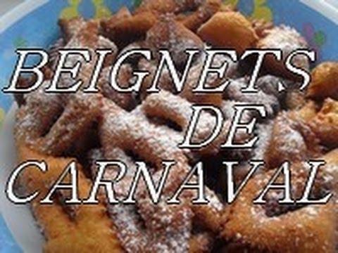 recette facile des beignets  de carnaval ou bugnes - bombolino di carnavale
