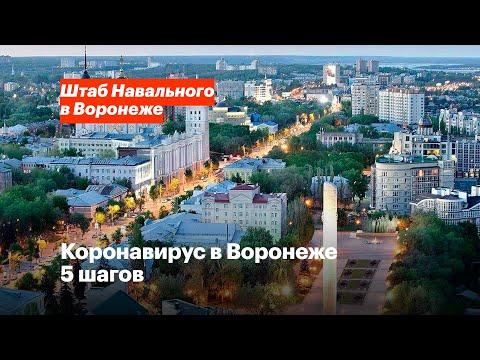 Коронавирус в Воронеже. 5 шагов