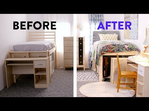 $500 Dorm Room Makeover