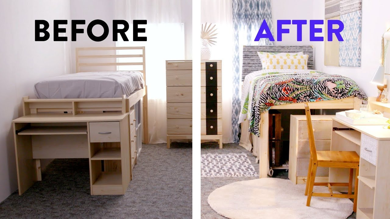 Dorm Room Ideas Most Amazing College Dorm Makeovers