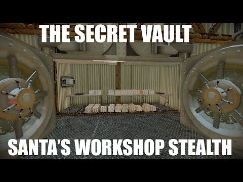 Payday 2 Santa's Workshop Stealth SECRET VAULT + fails