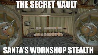 Payday 2 Santa#39s Workshop Stealth SECRET VAULT + fails