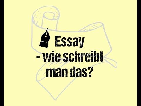Wie Schreibt Man Einen Essay? / Schreibtipps Essay