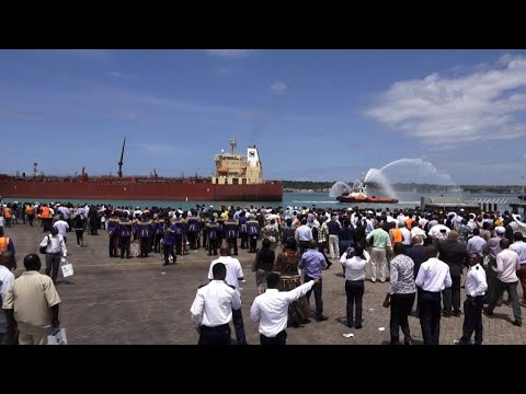 Kenya ships first-ever export of crude oil