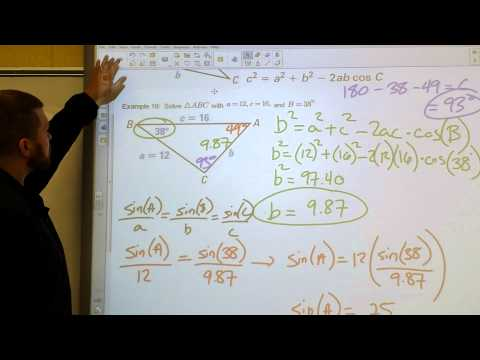 14 - The Law of Cosines and Heron's Formula